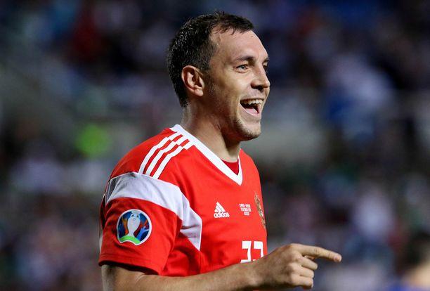 Artem Dzjuba on Venäjän maajoukkueen kapteeni ja palkittu sankari.