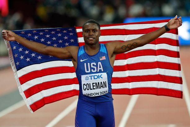 Christian Colemania epäillään Daily Mailin mukaan dopingrikkeestä.