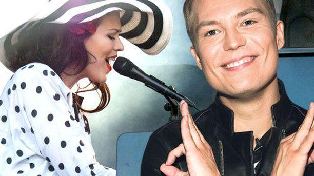 Jenni Vartiainen ja Cheek kiinnostavat suomalaista konserttiyleisöä.