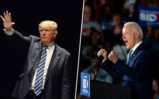 USA:n presidentinvaaleihin on tasan puoli vuotta aikaa – tämä on Trumpin ja Bidenin välisen kilvan tilanne nyt