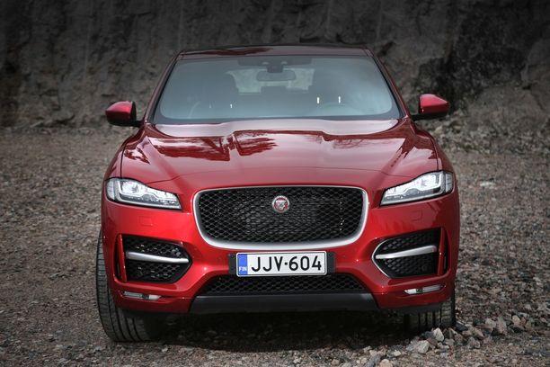 Jaguar F-Pace sai myös muotoilustaan ykkössijan.
