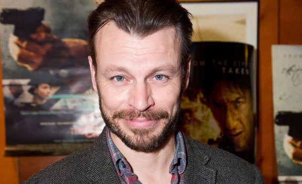Näyttelijä, kirjailija ja käsikirjoittaja Peter Franzén.