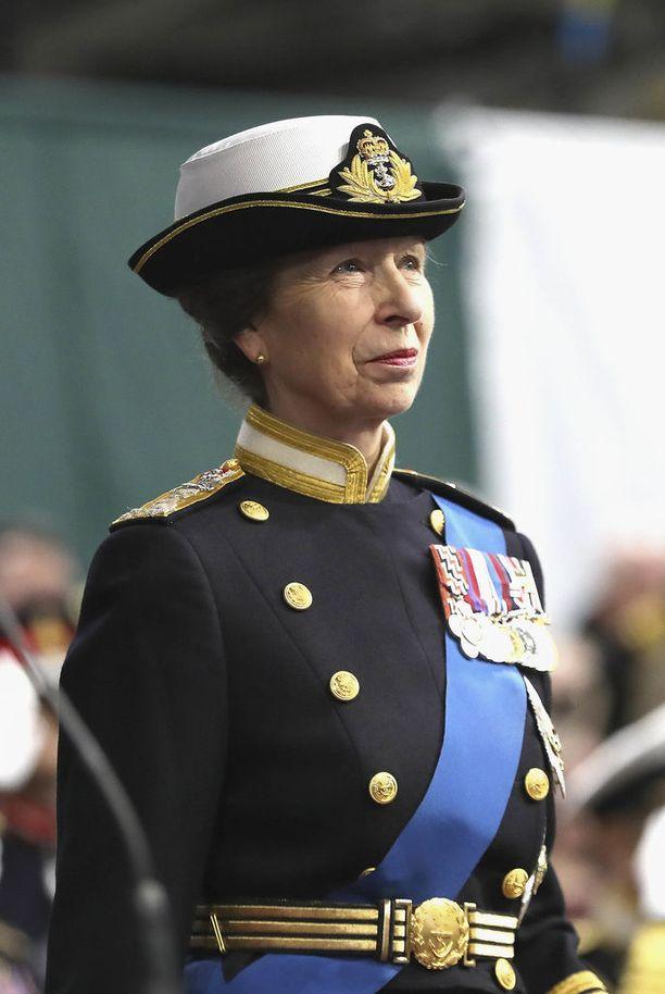 Prinsessa Anne oli The Timesin mukaan kiireisin kuninkaallinen.