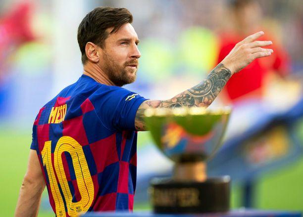 Lionel Messi ei ole pelikunnossa illan sarja-avauksessa.