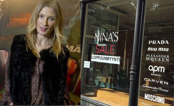 Niina Kurkinen oli tuttu näky liikkeessään. Yrityskaupan myötä muotiliike eli vain vuoden.