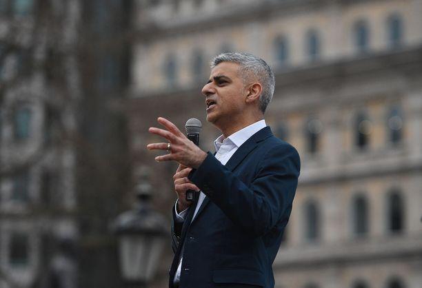 Lontoon pormestari Sadiq Khan on ollut viime aikoina Donald Trumpin tviittien kohde.