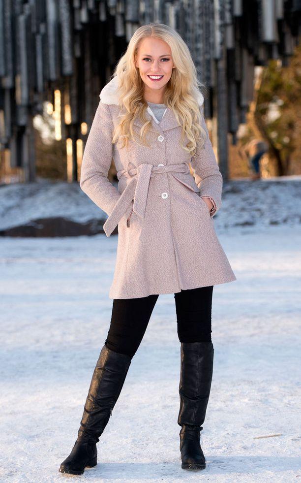 Krista Haapalainen on Miss Suomen perintöprinsessa.