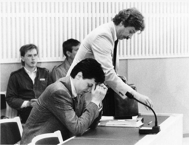 Lepajõe vastasi syytteisiin Helsingin käräjäoikeudessa vuonna 1985.