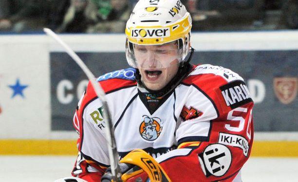Tommi Kivistö syötti ottelun voittomaalin.