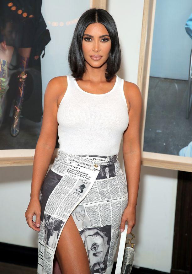 Kim Kardashian Westin kuvamuokkaukset puhuttavat jälleen.
