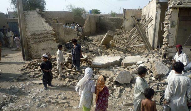 Mehsudin talo tuhoutui raketti-iskussa kaksi päivää sitten.