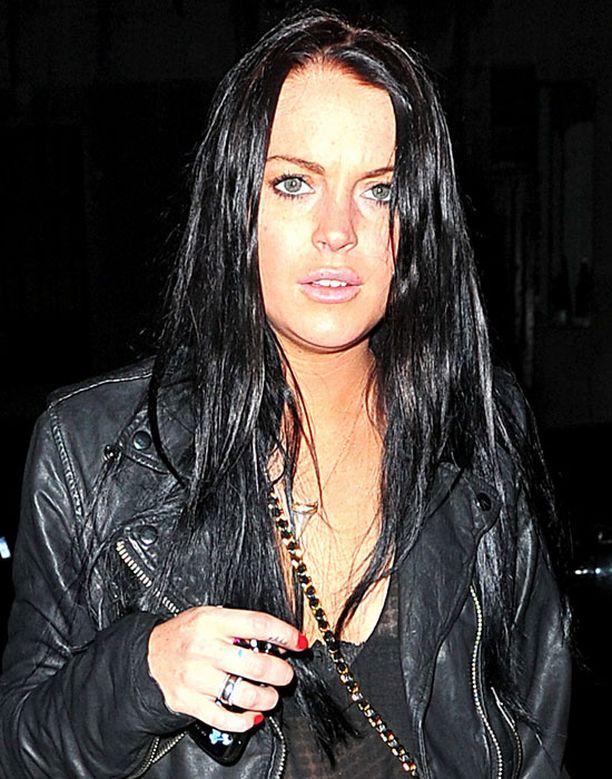 Lindsay lainapöksyissä oli kokaiiniyllätys.