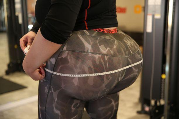 Natashan takamukseen on siirretty rasvaa reisistä, käsistä ja selästä.