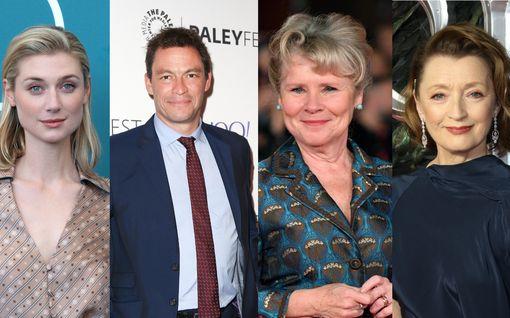 The Crownin uudet näyttelijät julkaistiin – Harry Potter -pahis nähdään kuningatar Elisabetina