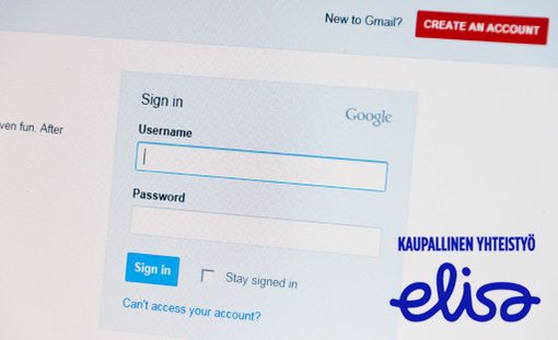 Esimerkiksi Googlelle tehdyt tunnukset ovat käytettävissä myös sähköpostissa ja pilvipalveluissa.