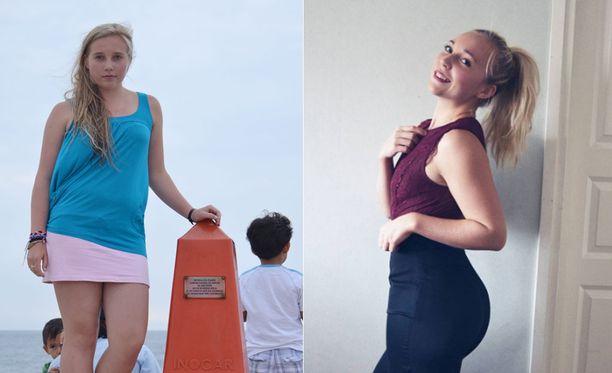 Jasmin ei ollut ylipainoinen, mutta halusi parantaa kuntoaan. Hän haaveilee mallin töistä.