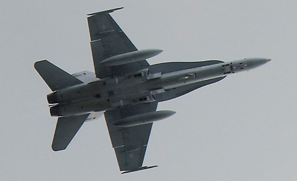 Lukijoiden huomaamat Hornetit olivat luultavasti harjoitustoiminnassa.