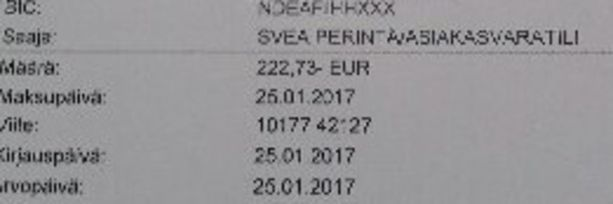 Pia Harlio joutui maksamaan yli 200 euron perintämaksun, jotta sähköt saataisiin kytkettyä takaisin päälle.