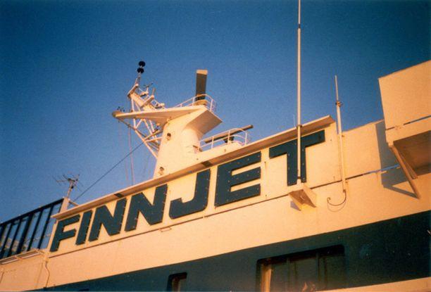 Finnjet oli aikanaan mitä edistyksellisin matkustaja-alus.