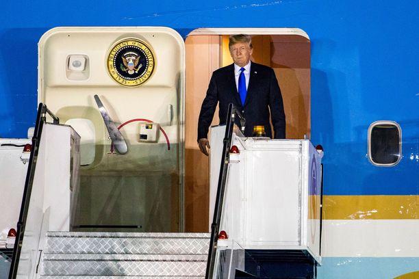 Donald Trump on tunnettu kättelyistään.