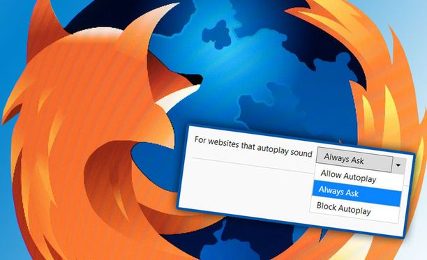 Firefox Nightly -selaimessa voi laittaa autoplay-videot pois päältä.