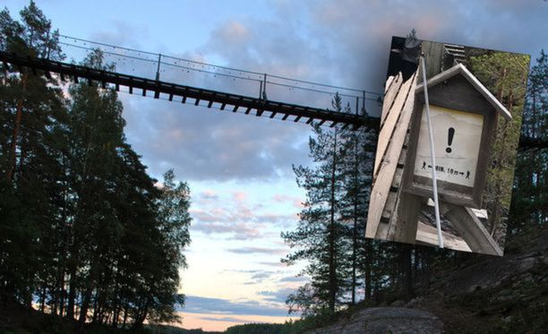Repoveden kansallispuisto riippusillan yksi ankkurointilenkki petti 1. heinäkuuta, kun sillalla oli useita ihmisiä.