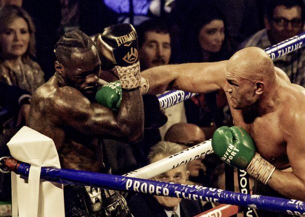 Deontay Wilder hävisi helmikuussa Tyson Furylle.