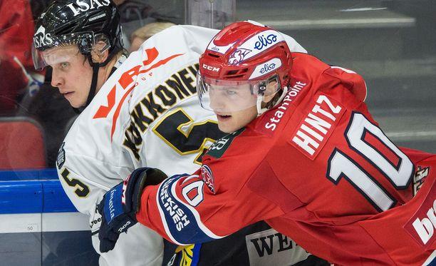 HIFK on sarjataulukossa niskan päällä.