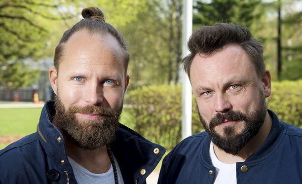 Tunna Milonoff ja Riku Rantala ovat tehneet Madventures-ohjelmaa vuodesta 2002 lähtien.