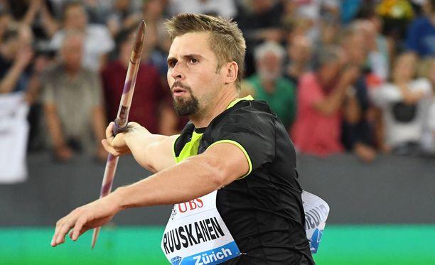 Antti Ruuskaselle tehtiin operaatio tiistaina.