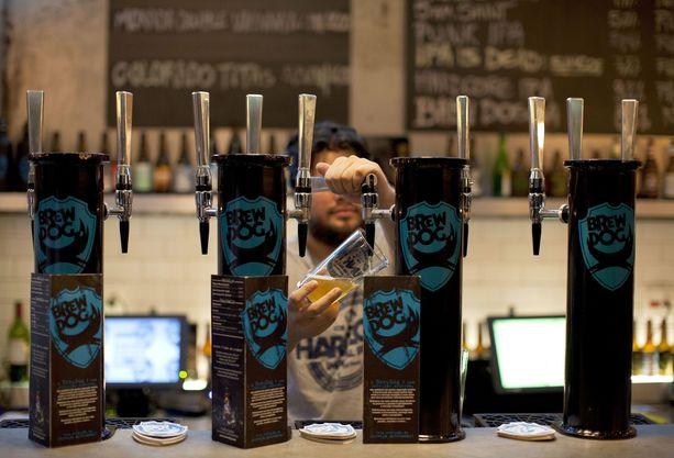 BrewDog on suosittu skotlantilainen panimo.