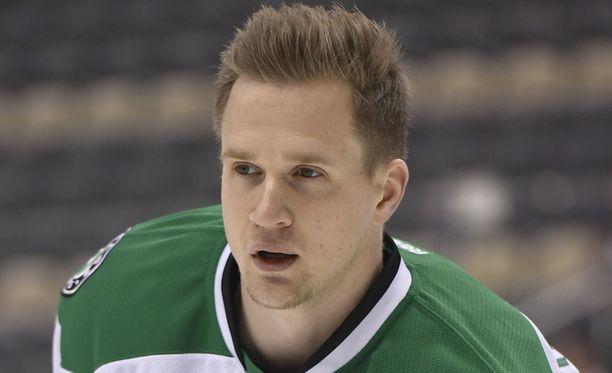 Lauri Korpikosken tähtäin on yhä NHL:ssä.