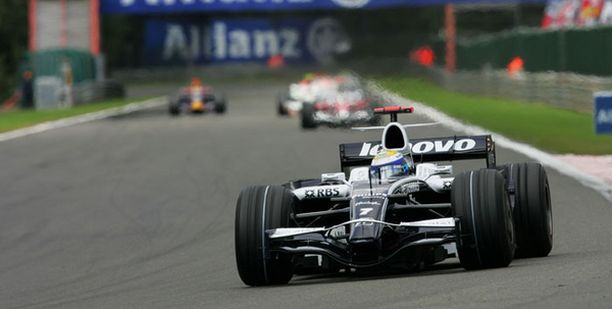 Span radalla ei Williams ollut parhaimmillaan.