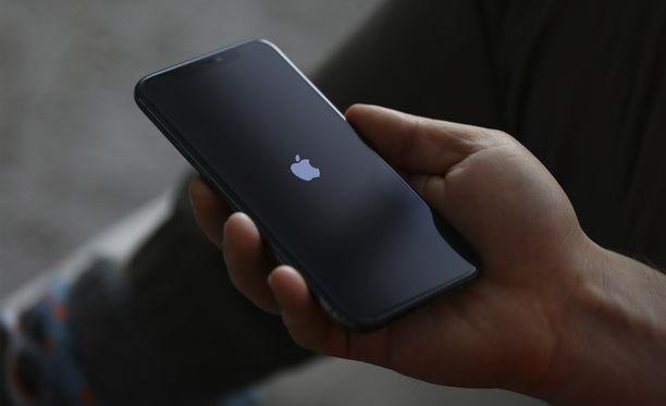 Iphone julkaisun väitetään siirtyvän koronaviruksen vuoksi. Kuvituskuva.