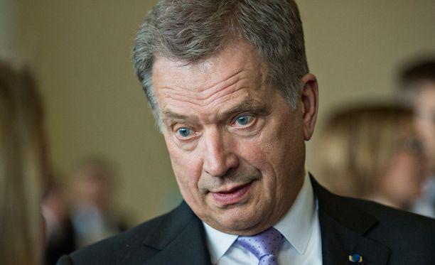 Presidentti Sauli Niinistö on jo päättänyt, ketä aikoo äänestää.