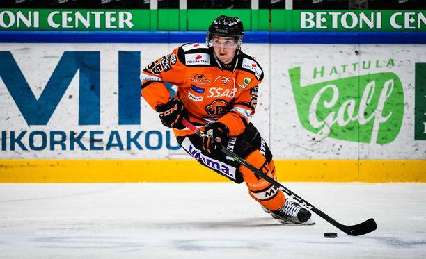 Sakari Manninen paukutti Lahdessa uransa ensimmäisen hatullisen.