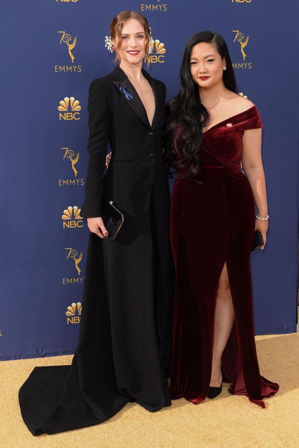 Evan Rachel Wood ja Amanda Nguyen
