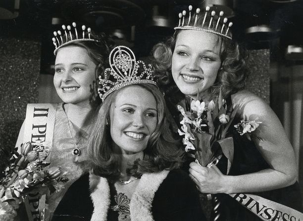 Sirpa Viljamaa kruunattiin Miss Suomeksi 1980.
