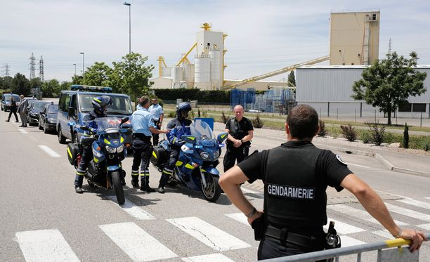 Virkavaltaa on runsaasti paikalla Saint-Quentin-Fallavierissa.