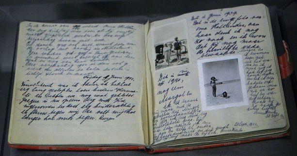 Anne Frankin päiväkirja julkaistiin toisen maailmansodan jälkeen vuonna 1947.