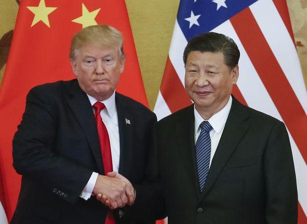 Yhdysvaltojen ja Kiinan kauppasota on kestänyt liki kaksi vuotta.