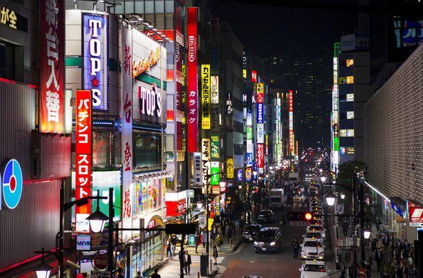 Tokiosta löytyy yksi ravintola noin 90 asukasta kohden.
