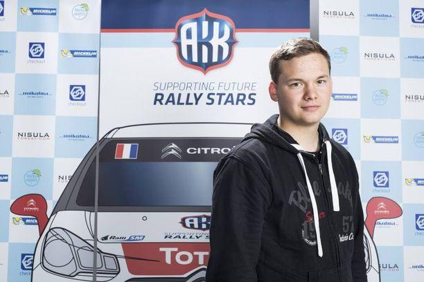 Jari Huttunen voitti tämän vuoden Tulevaisuuden tähti -tittelin.