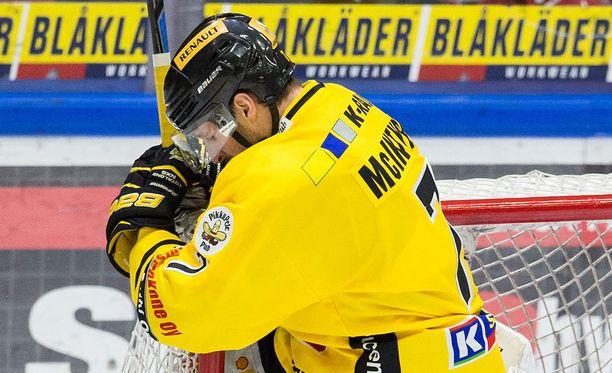 Dave McIntyre ei ollut pelipäällä Jyväskylässä.