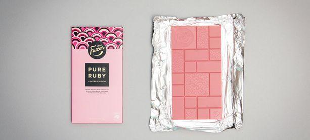 Ruby-suklaa on vuonna 2017 lanseerattu uusi suklaalaatu, jossa suklaa on luontaisesti vaaleanpunaista.