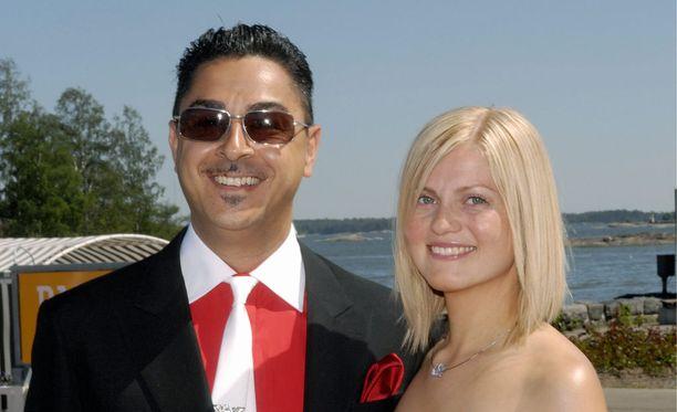 Arman Alizad ja Emilia Järvinen-Alizad olivat naimisissa kuusi vuotta.