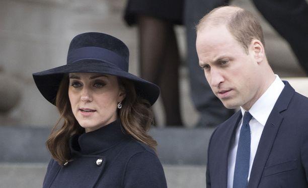 Herttuatar Catherine ja prinssi William vierailevat Pohjolassa kuun vaihteessa.