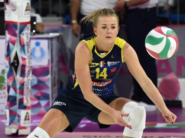 Joanna Wołosz on joukkueensa tähtipelaajia.