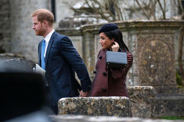 Harry ja Meghan totuttelevat uuteen elämäänsä Yhdysvalloissa. Kuva ajalta ennen Archien syntymää.