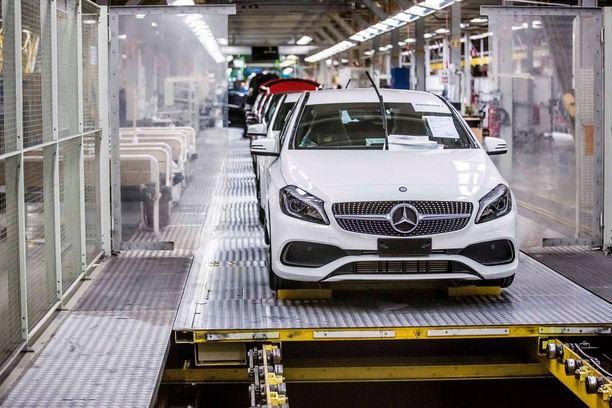 A-sarjan Mercedestä on valmistettu Uudessakaupungissa vuodesta 2013 lähtien. Nyt tarina jatkuu.